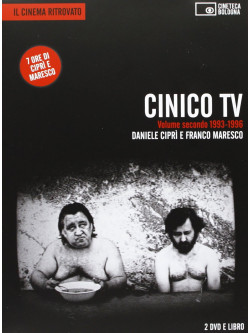 Cinico Tv 02 1993-96 (2 Dvd+Libro)