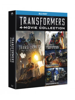 Transformers - Quadrilogia (5 Blu-Ray)