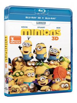 Minions (3D) (Blu-Ray+Blu-Ray 3D)