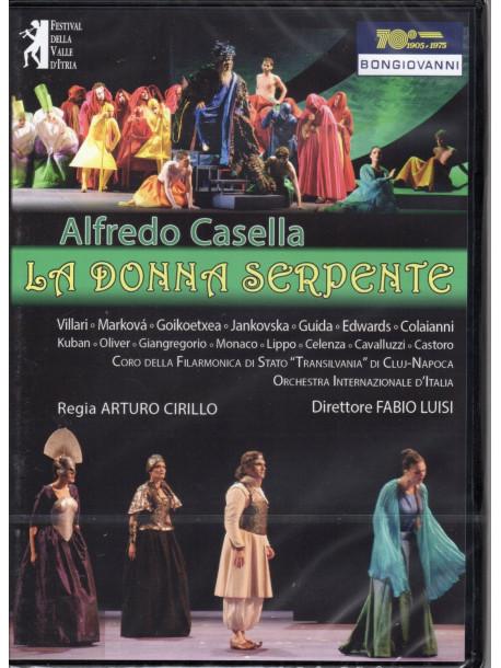 Alfredo Casella - La Donna Serpente