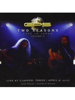 Gps - Two Seasons: Live In Japan Volume Two
