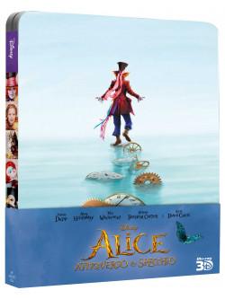 Alice Attraverso Lo Specchio (3D) (Ltd Steelbook) (Blu-Ray+Blu-Ray 3D)