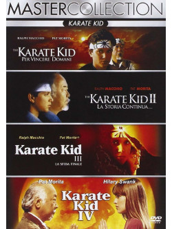 Karate Kid Quadrilogia (4 Dvd)
