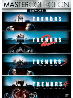 Tremors Quadrilogia (4 Dvd)