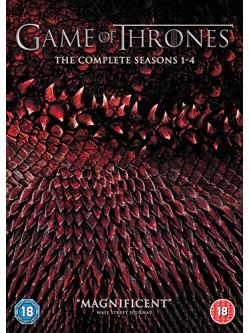 Game Of Thrones - Seasons 1-4 (20 Dvd) [Edizione: Regno Unito]