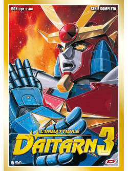 Imbattibile Daitarn 3 (L') Box Serie Completa (Eps 01-40) (10 Dvd)