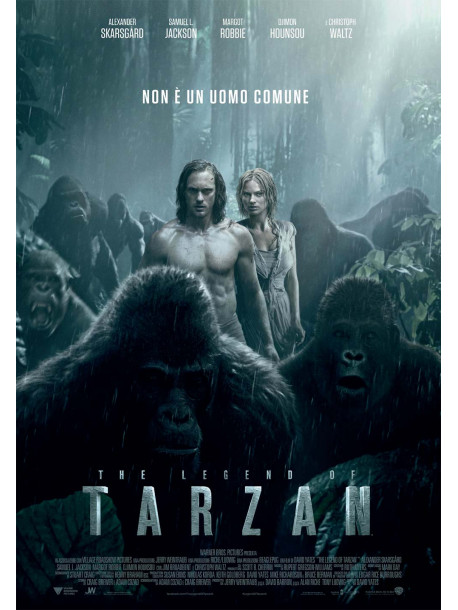 Legend Of Tarzan (The) (Blu-Ray 4K Ultra HD+Blu-Ray+Digital Copy)