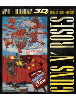 Guns N' Roses - Appetite For Democracy 3D: Live At The Hard Rock Casino - Las Vegas (3 Dvd)