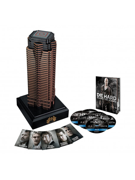 Die Hard - Nakatomi Plaza Collection (Collector's Edition) (6 Blu-Ray)