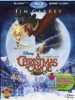 Christmas Carol (A) (2009) (Blu-Ray+E-Copy)