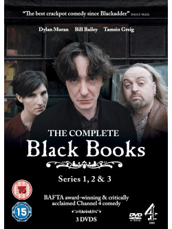 Black Books   The Complete Series 1 3 (3 Dvd) [Edizione: Regno Unito]
