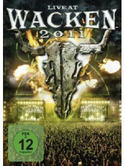 Live At Wacken 2011 (3 Dvd)