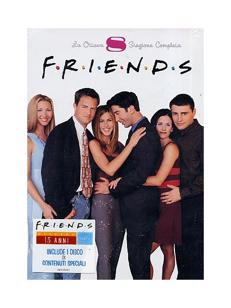Friends - Stagione 08 (5 Dvd)