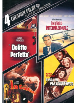 Alfred Hitchcock - 4 Grandi Film (4 Dvd)