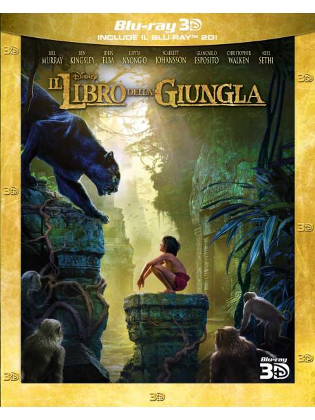 Libro Della Giungla (Il) - Live Action (3D) (Blu-Ray 3D+Blu-Ray)