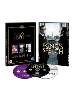 Kings Speech (The ) / The Queen / Young Victoria (3 Dvd) [Edizione: Regno Unito]