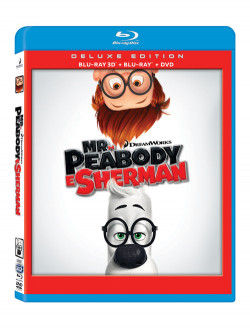 Mr. Peabody E Sherman (3D) (Blu-Ray+Blu-Ray 3D+Dvd)
