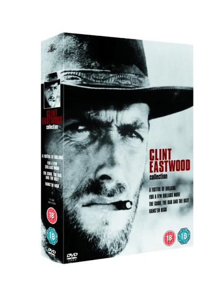Clint Eastwood - Spaghetti Western Collection (4 Dvd) [Edizione: Regno Unito]