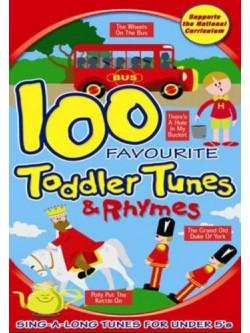 100 Toddler Tunes [Edizione: Regno Unito]