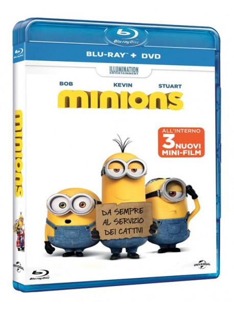 Minions (Blu-Ray+Dvd)