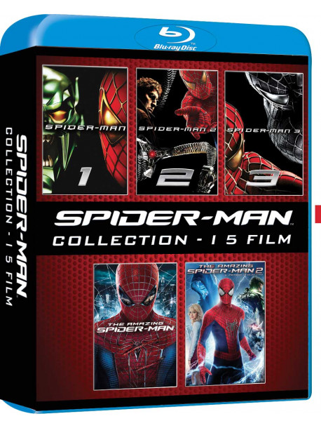 Spider-Man Collection (5 Blu-Ray)