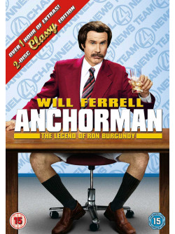 Anchorman: 2 - The Legend Of Ron Burgundy Disc Special Edition [Edizione: Regno Unito]