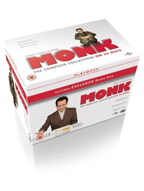 Monk - Complete Collection [Edizione: Regno Unito]