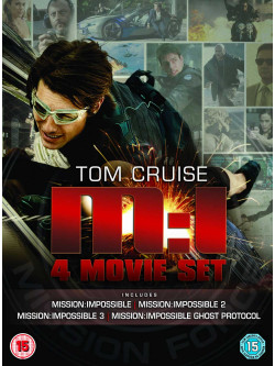 Mission Impossible 1-4 Boxset (4 Dvd) [Edizione: Regno Unito]