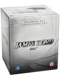 James Bond Collection (22 Dvd) [Edizione: Regno Unito]