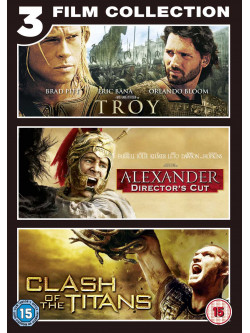 Troy / Alexander / Clash Of The Titans (3 Dvd) [Edizione: Regno Unito]