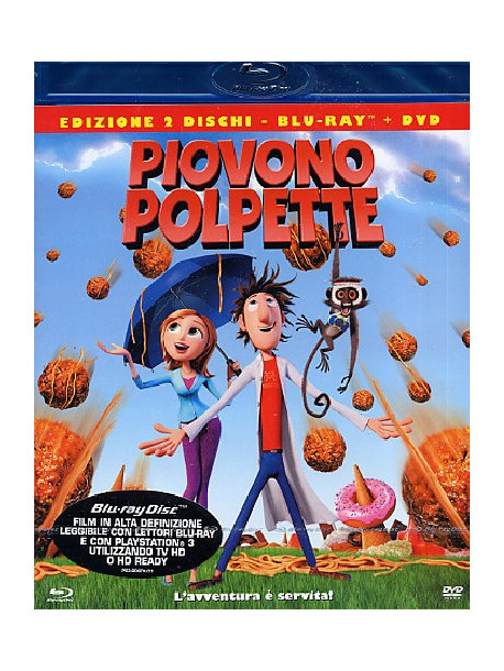 Piovono Polpette (Blu-Ray+Dvd)