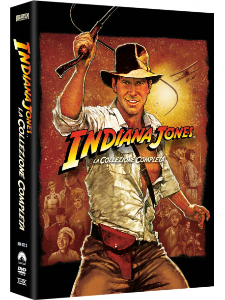 Indiana Jones Quadrilogia (5 Dvd)