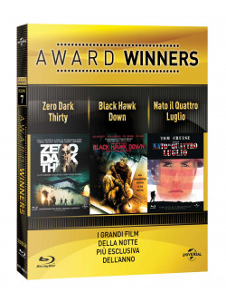 Zero Dark Thirty / Black Hawk Dawn / Nato Il 4 Luglio - Oscar Collection (3 Blu-Ray)