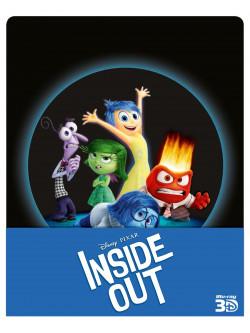 Inside Out (3D) (Ltd Steelbook) (2 Blu-Ray+Blu-Ray 3D)