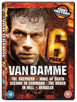Van Damme Six Pack (6 Dvd) [Edizione: Regno Unito]