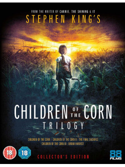 Children Of The Corn Trilogy - Collector's Edition (3 Blu-Ray) [Edizione: Regno Unito]
