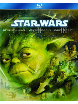 Star Wars - Prequel Trilogy (3 Blu-Ray) [Edizione: Regno Unito]