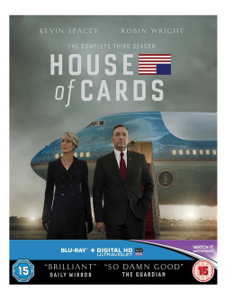 House Of Cards - Season 3 (4 Blu-Ray) [Edizione: Regno Unito]