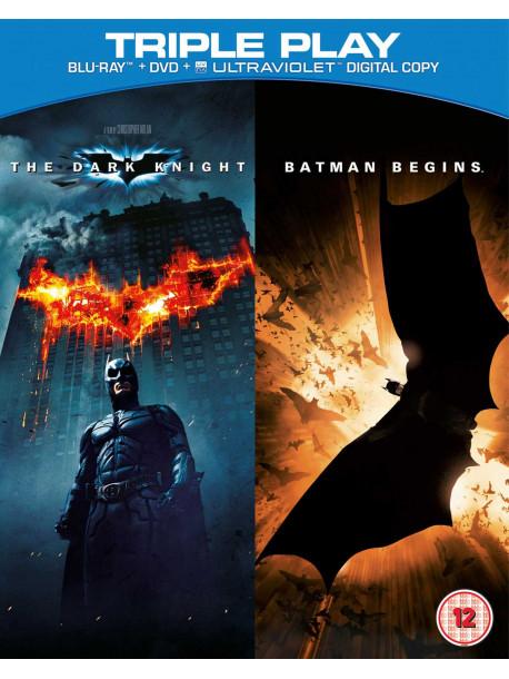 Dark Knight / Batman Begins (5 Blu-Ray) [Edizione: Regno Unito]