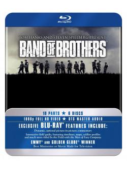 Band Of Brothers - Complete Season (6 Blu-Ray) [Edizione: Regno Unito]