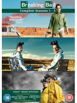 Breaking Bad  - Seasons 1-3 (11 Dvd) [Edizione: Regno Unito]