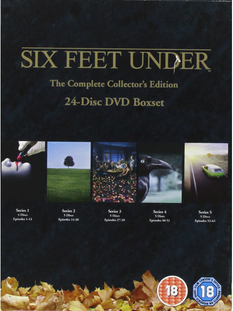 Six Feet Under - Seasons 1-5 (24 Dvd) [Edizione: Regno Unito]